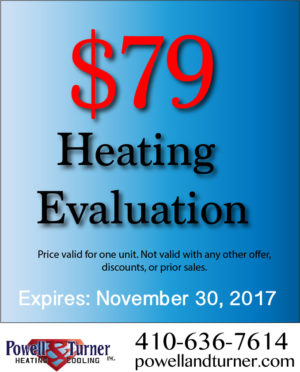 $79 Heating Evaluation