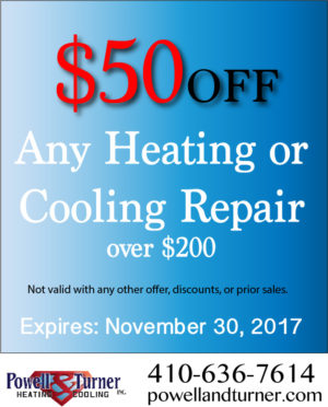 $50 Off Heating & Cooling Repairs $200 or more